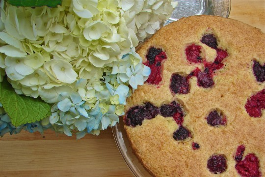 Post image for Summer Fruit Cake ~YOUR WAY #baketogether